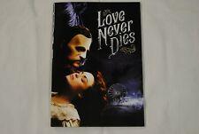 More details for love never dies april 2011 musical programme new official andrew lloyd webber