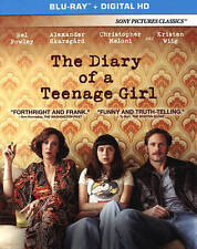 THE DIARY OF A TEENAGE GIRL Movie on BLU-RAY DVD and DIGITAL HD Copy ULTRAVIOLET