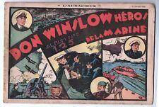 Récit complet. Collection L'AUDACIEUX n°5 DON WINSLOW Héros de la Marine. 1938
