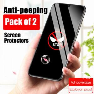 Screen Protector for Xiaomi Mi 11 Poco X3 F3 PRIVACY FULL COVER TEMPERED GLASS