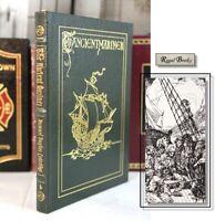 RIME OF THE ANCIENT MARINER - Easton Press - Samuel Coleridge - Famous Editions