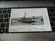More details for postcard  p8 d23 tyne general ferry company advertising postcard newcastle  a