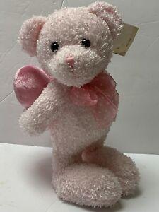Flowers Inc. Balloons® Standing Plush Pink Bear Hiding I LOVE YOU Heart Pillow