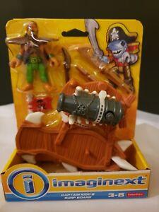 Imaginext Pirate Adventure Figures - New