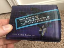 Ravage Magic Action Picture Wallet G1 Transformers 1984 Vintage Hasbro