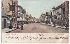Hertfordshire; Watford High St PPC, 1904 PMK & 30 Cent to pay to Paris France