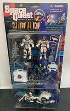 Space Quest Mission Squad Exploration Team Alien Action Figures- New