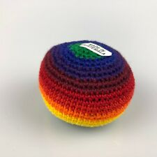One Hacky Sack Juggling Balls Footbag Colour Made In Guatemala Magic Toy