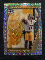 2020 Panini Mosaic JuJu Smith-Schuster Swagger Silver Wave Prizm Steelers