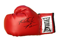 "RIDDICK ""BIG DADDY"" BOWE SIGNED EVERLAST BOXING GLOVE PROOF HEAVYWEIGHT CHAMP"