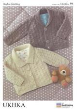 Double tricot motif Cardigans Laine de 0 à 6 ans Baby 41-66 cm 16-26 pouces