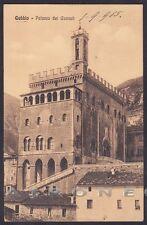PERUGIA GUBBIO 08 Cartolina viaggiata 1915