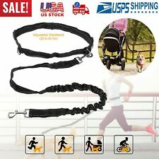 Hands Free Dog Leash Waist Belt Strong Easy Leashes for Small to Large Dogs