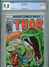 1978 MARVEL THOR #273 CGC 9.8 WHITE HIGHEST GRADED