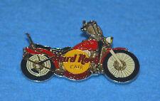 HARD ROCK CAFE Acapulco Motorcycle - Red Harley w Large White Spokes Pin # 169