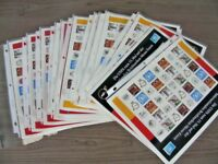 UNITED NATIONS, Excellent Accumulation of Personalized Sheets of Stamps