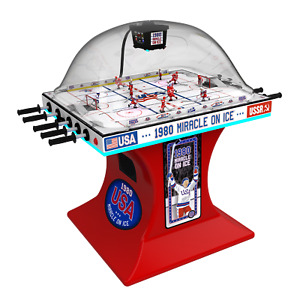 Super Chexx Pro - dome / bubble hockey - Miracle on Ice Edition