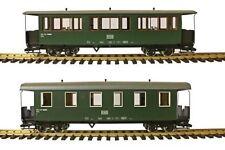Train Line45  Set 2 Stück HSB Traditionswagen  900-456 und 900-460 Spur G.