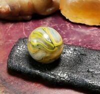 """VINTAGE MARBLES JABO Sammy's Mountain Marbles 5/8"""" Saundra Stark Run Marble"""