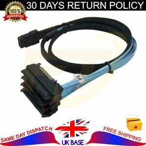 Mini SAS SFF-8087 36Pin to SFF-8482 4 SATA 29Pin Connectors SATA Power Cable 1m