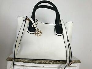 Caprisa 2 sections handbag carry/shoulder lightweight bag logo charm