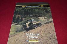 Caterpillar Challenger 65 Tractor Dealer's Brochure YABE14