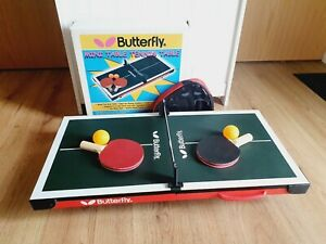 Table Top Ping Pong / Table Tennis - Mini Set - Butterfly