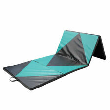 4 X10ft Folding Gymnastics Mat Stretching Thick Panel Exercise Mat Kids Improved