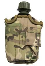 Cantimplora 1 Litro camuflaje MFH - Colores Multicam, airsoft, caza, camping