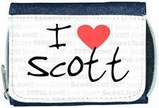 I Love Corazón Scott Denim Cartera