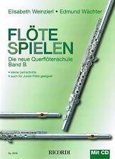Querflöte Noten Schule : Flöte Spielen B mit CD WEINZIERL WÄCHTER
