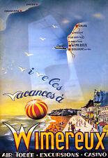 Affiche touristique - Wimereux