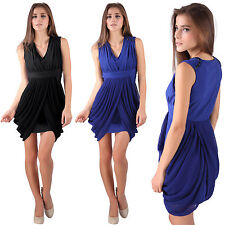 Synthetic Casual Wrap Dresses