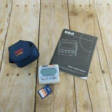 Rca Lyra MP3 Player with Case/SD Card Bundle - Tested Works!
