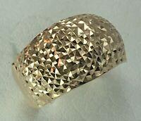 Vintage Original Rose Gold 585 14K Ring, Chic Rose Gold Ring 585 14K