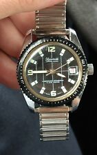 VINTAGE WRISTWATCH-LUCERNE-DIVERS WATCH-SCUBA 5 ATM TESTED WORKING CONDITION