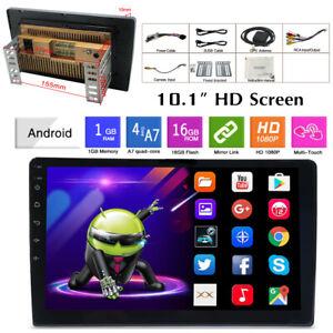 "Android 9.1 10.1"" 1+16G Car MP5 Player w/Bluetooth GPS WiFi FM Radio Mirror Link"