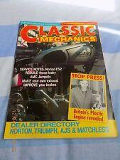 classic mechanics(16)J.A.P. 500/Norton ES2 service/AMC Jampots/moto morini/
