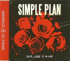 Maxi CD - Simple Plan - Your Love Is A Lie - #A2287