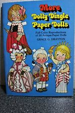 More Dolly Dingle Paper Dolls by Drayton, Grace Other printed item Book The Fast