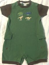 JANIE and JACK Dinosaur Days romper outfit 6 12 mos