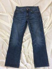 0063 Mens BULL HEAD Gravels Slim Blue Jeans, size 30 W x 28.5 L ~ EUC!