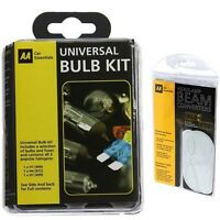 AA Travel Kit Beam Converters Adapters and AA Universal Spare Bulbs Kit