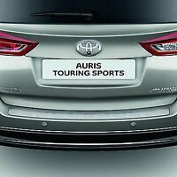 Genuine Toyota Auris 2013  Rear Bumper Protection Plate Polished PZ402-E9520-ZA