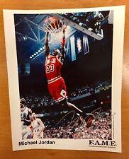 Michael Jordan Bulls Signed 8x10 Photo print jersey basketball nba finals pippen