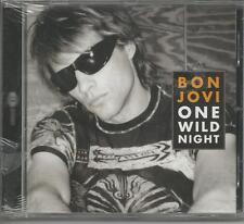 BON JOVI - One wild night - CDs SINGLE 4 TRACKS SEALED