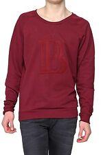Normale unifarbene Herren-Sweatshirts aus Baumwolle
