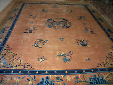 echter handgeknüpfter Orientteppich China-Peking-Palast-Teppich 3,20 x 4,00 m