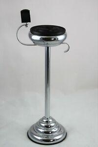 Seltener Standascher Art Deco Rauchertisch Smoking Table