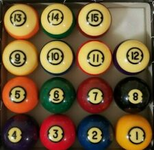 New listing Brunswick Centennial Billiard Pool Balls